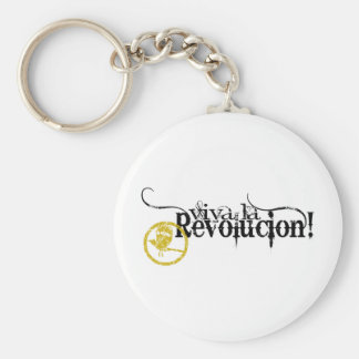 Viva La Revolucion Basic Round Button Key Ring