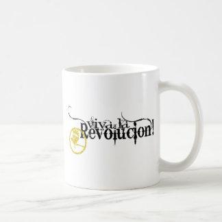 Viva La Revolucion Basic White Mug