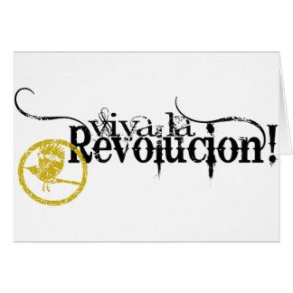 Viva La Revolucion Card
