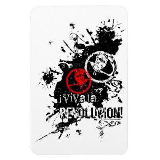 Viva la Revolucion Rectangular Photo Magnet
