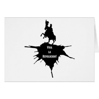 Viva La Revolucion Greeting Card