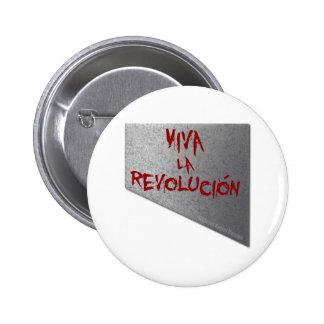 Viva la Revolucion Guillotine 6 Cm Round Badge
