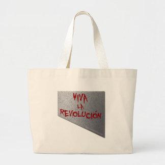 Viva la Revolucion Guillotine Canvas Bags