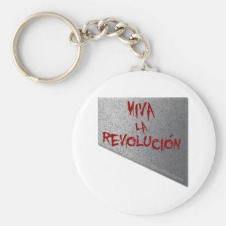 Viva la Revolucion Guillotine Basic Round Button Key Ring