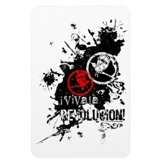 Viva la Revolucion Rectangular Photo Magnet