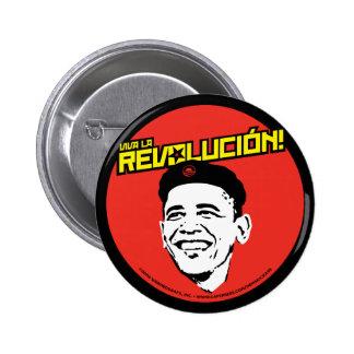 Viva La Revolucion Round Button
