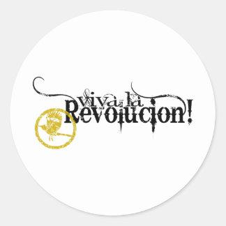 Viva La Revolucion Round Sticker
