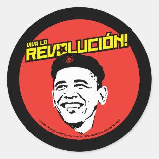 Viva La Revolucion! Round Sticker