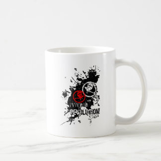 Viva La Revolucion Splattered Coffee Mugs
