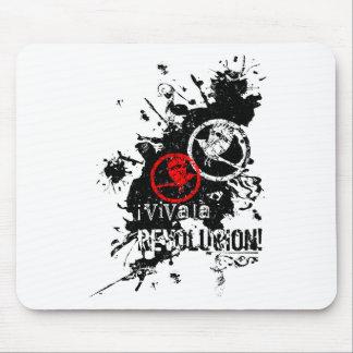 Viva La Revolucion Splattered Mouse Pad
