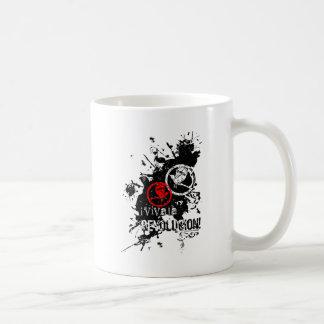 Viva La Revolucion Splattered Coffee Mugs