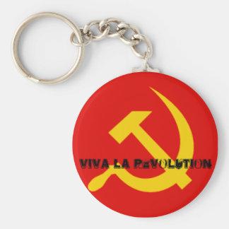 Viva La Revolution Keychain