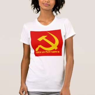 Viva La Revolution Woman's T Design #2 T Shirts