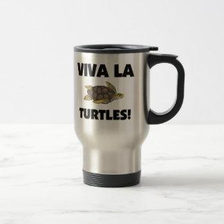 Viva La Turtles Stainless Steel Travel Mug
