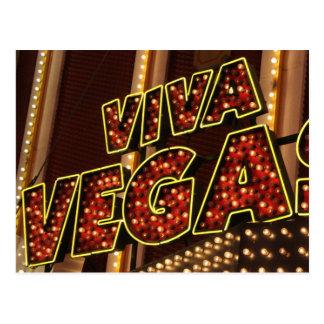 Viva Las Vegas Postcard