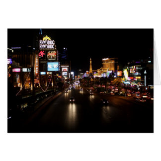 Viva Las Vegas Strip Notecard