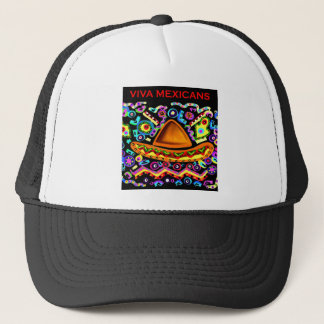 VIVA MEXICANS TRUCKER HAT