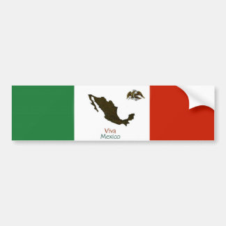 Viva Mexico bumper sticker