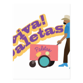 Viva Paletas Postcard