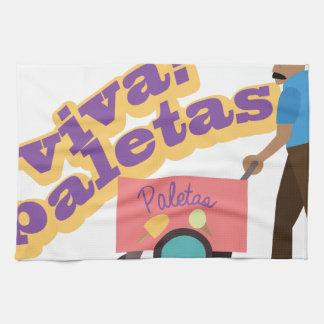 Viva Paletas Tea Towel