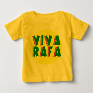 VIVA RAFA with Tennis Ball Baby T-Shirt