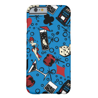 Viva Vegas Casino Retro Gambling Design Barely There iPhone 6 Case