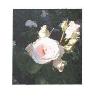 Vivaldi Hybrid Tea Rose Memo Note Pad