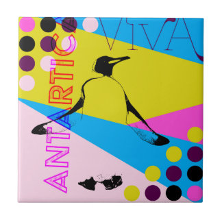 Vive Antartica Penguins Tile