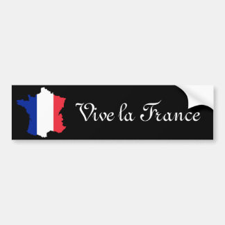 vive la france bumper sticker