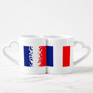 VIVE LA FRANCE couple mugs