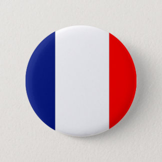 VIVE LA FRANCE tricolor 6 Cm Round Badge