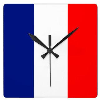VIVE LA FRANCE tricolor STRIPE20 Wallclocks