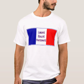 Vive la France, Vive la Revlution French Patriotic T-Shirt