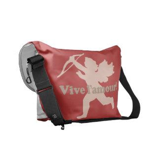 Vive L'amour Cupid messenger bags