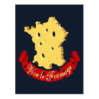 Vive le Fromage Postcard