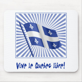 Vive le Québec libre! Mouse Pad