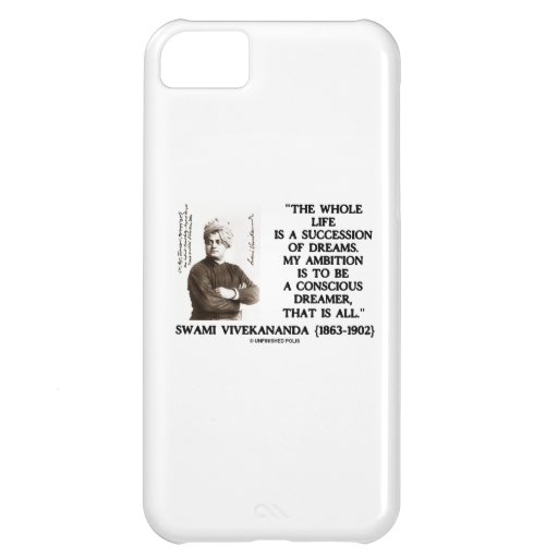 Vivekananda Whole Life Succession Dreams Ambition iPhone 5C Covers