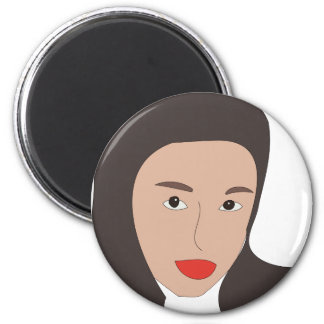 Vivian Hsu 6 Cm Round Magnet