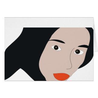 Vivian Hsu Greeting Card