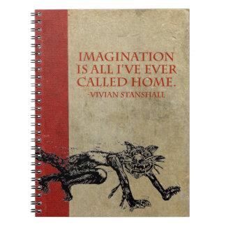 Vivian Imagination Sketchbook Notebook