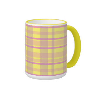Vivian Plaid Ringer Mug
