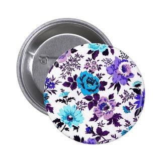 Vivian Wallpaper Blue Button