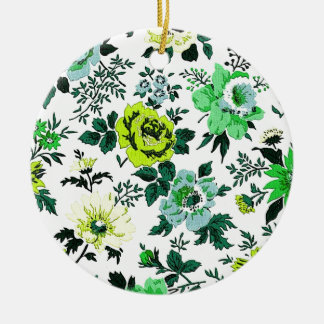"""Vivian"" Wallpaper Design Christmas Ornaments"