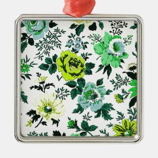 """Vivian"" Wallpaper Design Christmas Ornament"