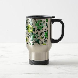 """Vivian"" Wallpaper Design Coffee Mugs"