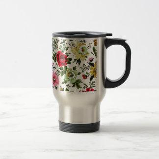 """""""Vivian"""" Wallpaper (Red) Mugs"""