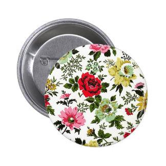Vivian Wallpaper Red Pinback Button