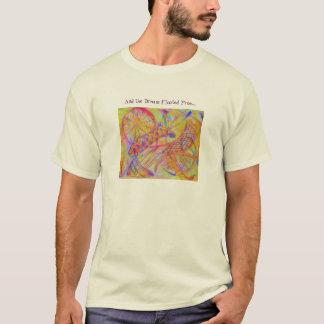 Vivid abstract mixed media T-Shirt