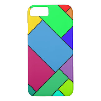 Vivid Color Block iPhone 7 Barely There Case