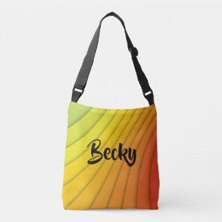 Vivid Color Stylish Stripes Tote Bag